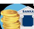 Příjem mincí na pobočkách bank